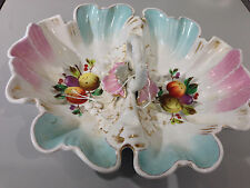 Candy dish C. Tielsch & Co. 1875-1934 Bridal Basket and bowl
