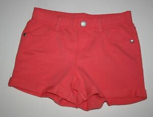 New Gymboree Coral Pink French Terry Midi Shorts NWT 5 6 8 Year Tropical Breeze