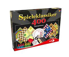 Noris 606111688 Spieleklassiker 400 Spielmöglichkeiten,Spielesammlung