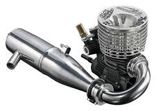 O.S Speed 21XZ-B Spec II TY 110% Limited Edition Engine With Pipe Set