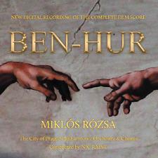 Ben Hur - 2 x CD Complete Score - Limited Edition - Miklos Rozsa