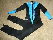 Oceanic Usa Swim Surf Scuba Splash Full Wet Suit Women Size L Large 2.5mm Mint