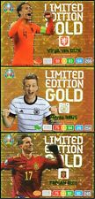 PANINI ADRENALYN XL UEFA EURO 2020 SET OF THREE (3) LIMITED EDITION GOLD CARDS