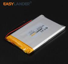 3.7V 2000 mAh Li-polymer Li-ion battery 525068 for MP5 GPS PSP tablet IPAQ MID
