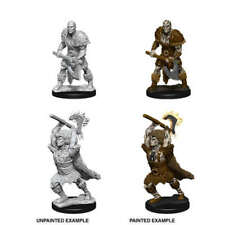 D&D Nolzur's Marvelous Unpainted Miniatures: Goliath Barbarian (2 minis) - New