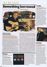 JOHNNY CASH	orginal press clipping	 	 29x22cm
