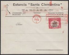 URUGUAY 1923. Covers (3) 264-66, Artigas, Montevideo