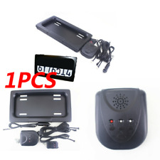 US Hide-Away Shutter Cover Up Electric Stealth License Plate Frame Holder+Remote