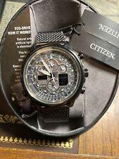 NEW Citizen JY8036-52E Promaster Navihawk A-T Eco-Drive Chronograph Men's Watch
