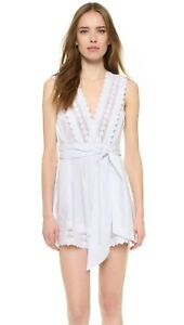 Alice Mccall Dancing On My Own Playsuit White size 12