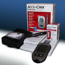 NEW Accu-Chek  Performa Blood Glucose Monitor + Teststrips MMOL/L