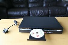 SONY RDR-HXD890 DVD Recorder+ 160GB HDD Black DVD DVB Freeview HDMI With Remote