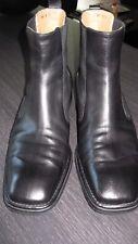 Original BALLY Stiefeletten Chelsea-Boots, schwarz, Gr. US 11 bzw. 44 neuwertig