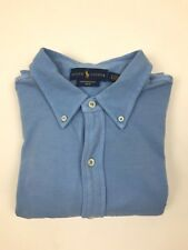 Ralph Lauren - Blue Mesh Long Sleeve Shirt - Large - *NEW WITH TAGS* RRP £99