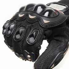 Breathable Motorcycle Gloves Full Finger Riding Motos Racing Armor Polyester Hot