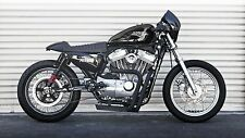 Box Pipe Motorcycle Exhaust For Harley Sportster (04'- present) Cafe Racer