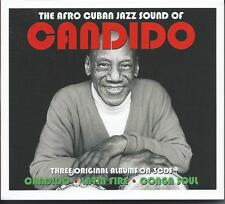 Candido - The Afro Cuban Jazz Sound Of - Three Original Albums (3CD) NEW/SEALED