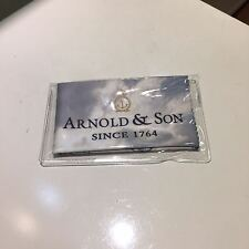 Arnold & Son suede