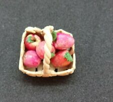 Basket of apples. Author's work.  Free International Shipping