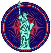 """#995 (1) 3.5"""" Statue Of Liberty USA AMERICA Decal Sticker Laminated USA"""