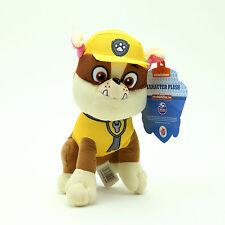 "8"" Paw Patrol Character Rubble Stuffed Animal Plush Toy USA Seller"