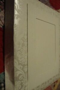 "Hallmark Wedding Memory Book Keepsake Photo Album Ivory Scrapbook 10 x11.5""  232"