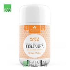 Ben & Anna Natural Soda Deodorant Stick Vanilla Orchid 60g
