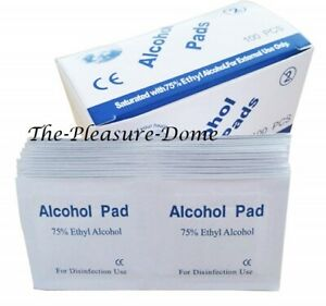 UNIVERSAL ANTIBACTERIAL  QUALITY 75% ETHYL ALCOHOL SWABS TATTOO NAIL WIPES