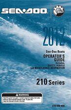 Sea-Doo Owners Manual Book 2012 210 CHALLENGER & 210 WAKE