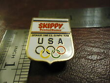 Vintage Usa Sponsor Skippy Pb 1988 Summer Olympics Pin From Seoul South Korea
