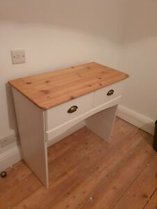 Solid Wood Pine Work Desk or Dressing Table or Drawers or Sideboard - NO RESERVE