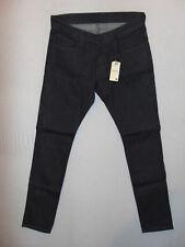 G-Star Raw 3301 Deconstructed Super Slim W34 L32 Grey Stretch Denim Jeans