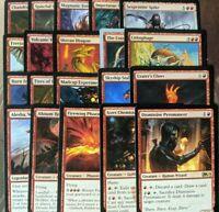 20 RED MTG Rares - Magic the Gathering mixed Lot