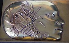 Pierre-Yves Tremois Sculpture Bronze Mohon signé numéroté 1988