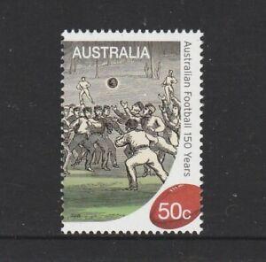 Australia 2008 150 YEARS OF AUSTRALIAN FOOTBALL Single Stamp MNH $1.00