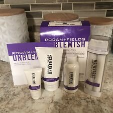 Rodan + and Fields UNBLEMISH REGIMEN Newest Formula! For blemishes & aging issue