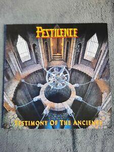 Pestilence - Testimony of the Ancients Vinyl LP First Press Roadrunner 1991 RARE