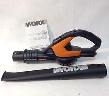 Worx Wg545 Used 20V 20 volt Cordless Sweeper Blower - Bare Tool