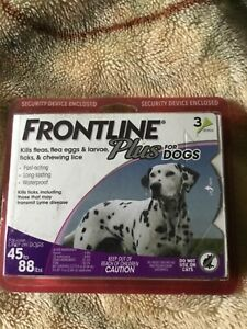 FRONTLINE plus for dogs 45 to 88 lbs