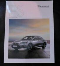 Lexus ES Self-Charging Hybrid Brochure 2019 - ES, F Sport, Takumi