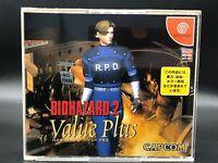 Resident Evil 2 w/spine (bio hazard 2)(Sega Dreamcast, 2000) from japan #2773