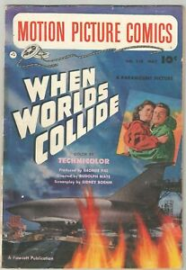 Motion Picture Comics # 110: When Worlds Collide (1952) George Evans Art!