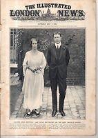 "1923 London News July 7 - Brooklyn ""L"" Tragedy; Henley Rowing; Charlie Chaplin"