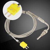 """1/8"""" NPT Type K Thermocouple EGT Sonde de Température Sensor Capteur 0-1250°C"""