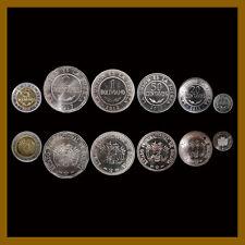 Bolivia 50 25 10 Centavos & 1 2 5 Bolivianos (6 Pcs Coin Set) 2002-2017 Unc Mint