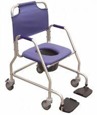 Toilettenstuhl Nachtstuhl WC - Stuhl Aluminium Duschwagen Herdegen