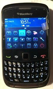 NEW BlackBerry Curve 9300 - Black (T-Mobile) Cell Phone Fast Ship Test Phone