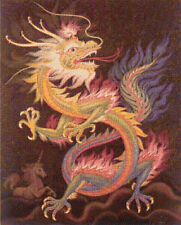 Dragon chinois 2 Counted Cross Stitch Kit Oriental Fantasy