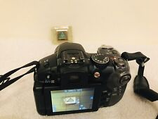Canon PowerShot S5 IS 8.0MP 12x Optical Zoom Digital Camera PC1234 Black -TESTED