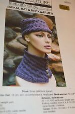 Baikal Neck Warmer Hat Knitting Pattern from Oat Couture